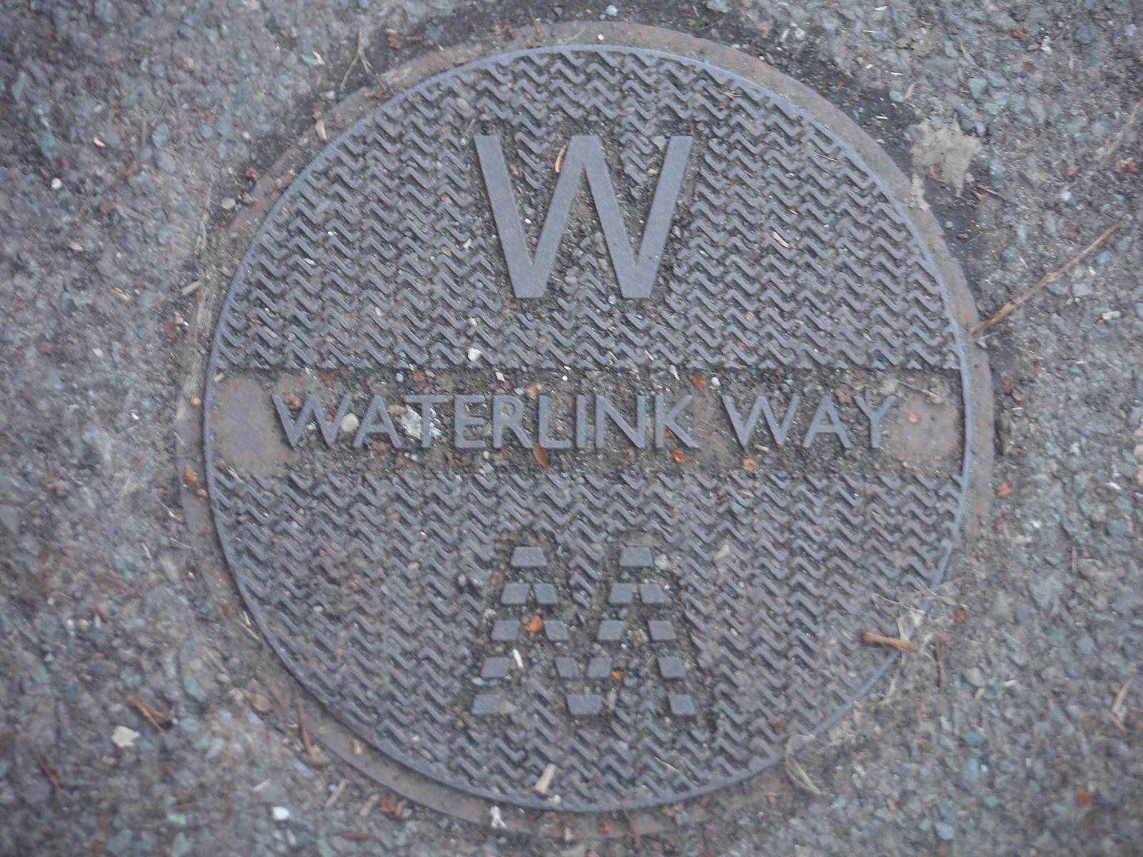 Waterlink Way Waymarker Disc SWC Short Walk 36 - Waterlink Way (Lower Sydenham to Greenwich)