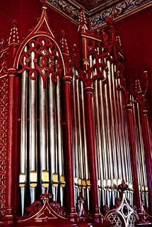 Organ [Orgão de tubos] (early XX Th. century) - Augusto Joaquim Claro