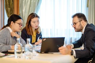 One-to-one meetings | by International Railway Summit