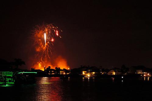 corpuschristitx texas usa water sea bay ocean coast coastline sunset eveningsky housing cloud clouds dusk fireworks city skyline boat evening sky night 4thofjuly dnysmphotography dnysmsmugmugcom