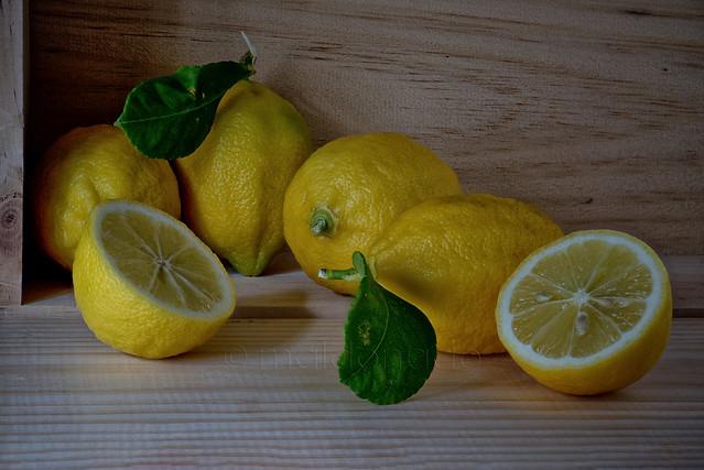 Bodegón de limones