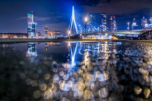 Bokeh bridge | by martijnvdnat