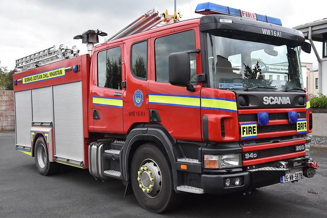 Wicklow County Fire Service 2005 Scania 94D 260 Sidhean Teo WrL 05WW5878