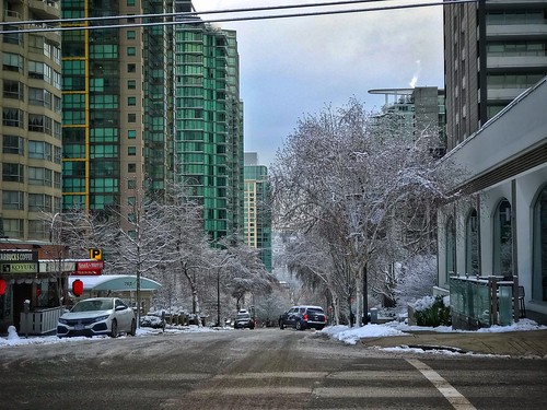 Downtown Vancouver snow, February 2019 | by John Bollwitt