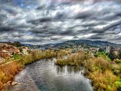 Ourense. Río Miño. Galicia. España.