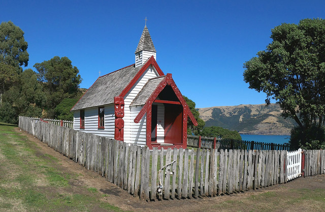 Onuku Church.Akaroa