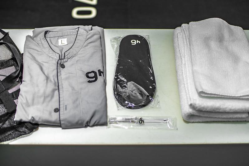 Pijama, zapatilla, toalla y más