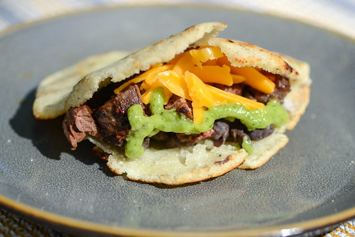 Grilled Steak Arepa | by joshbousel