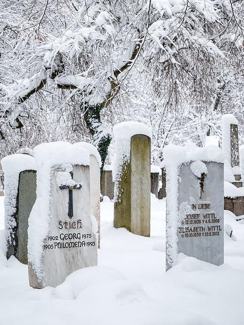 Wintereinbruch München
