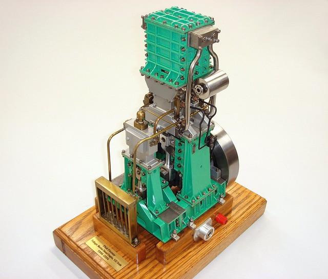 Fullagar Marine Diesel Model Engine by Phil Finney, IL, 2004