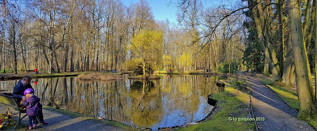 Kurpark Panorama Bad Lausick(1) - Im Monat März 2019