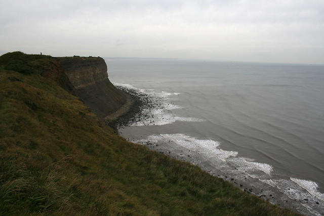 The Cleveland Way east of Saltburn-by-the-Sea