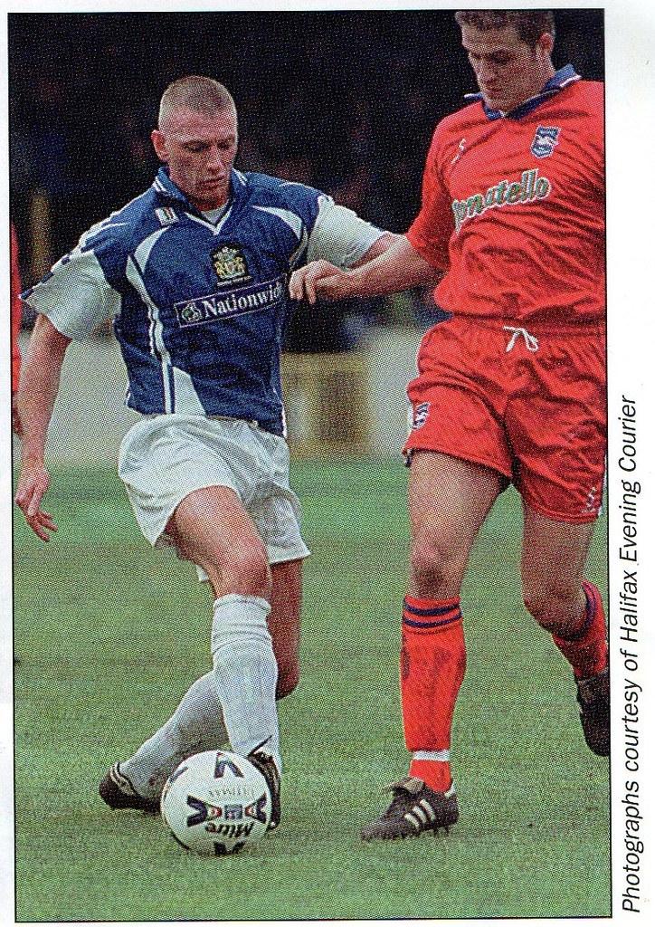 (Programme) 01-05-1999 Halifax Town 1-2 Scarborough 11 (Kevin Hulme)