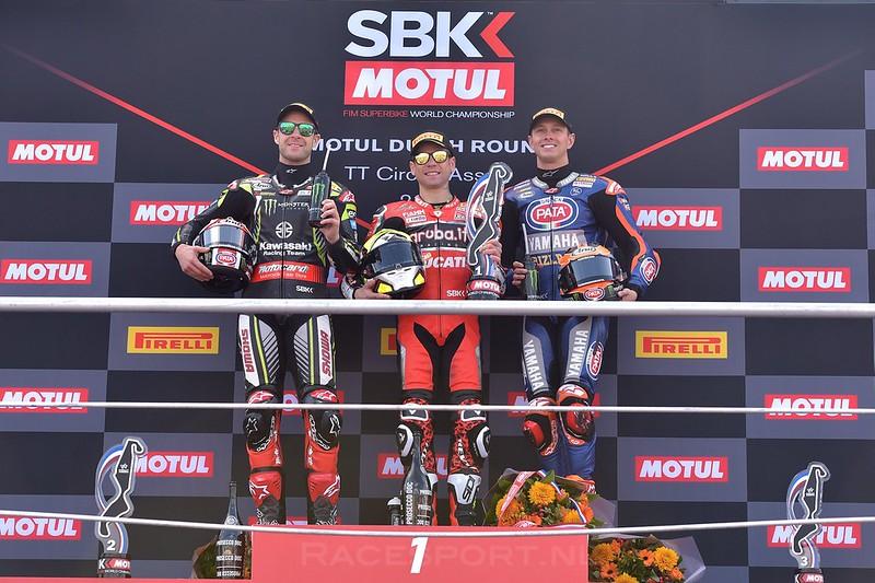 WorldSBK podium race 1