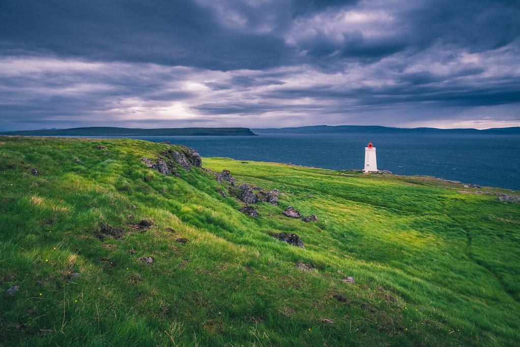 Skardsviti Lighthouse, Iceland