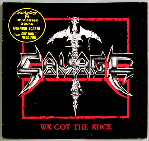 "SAVAGE WE GOT THE EDGE / RUNNING SCARED / SHE DON'T NEED YOU 12"" MAXI-SINGLE VINYL"