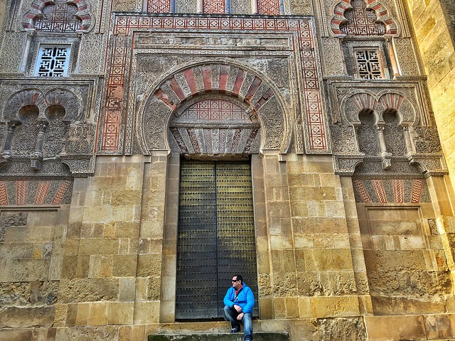 Sele en la Mezquita de Córdoba (Andalucía)