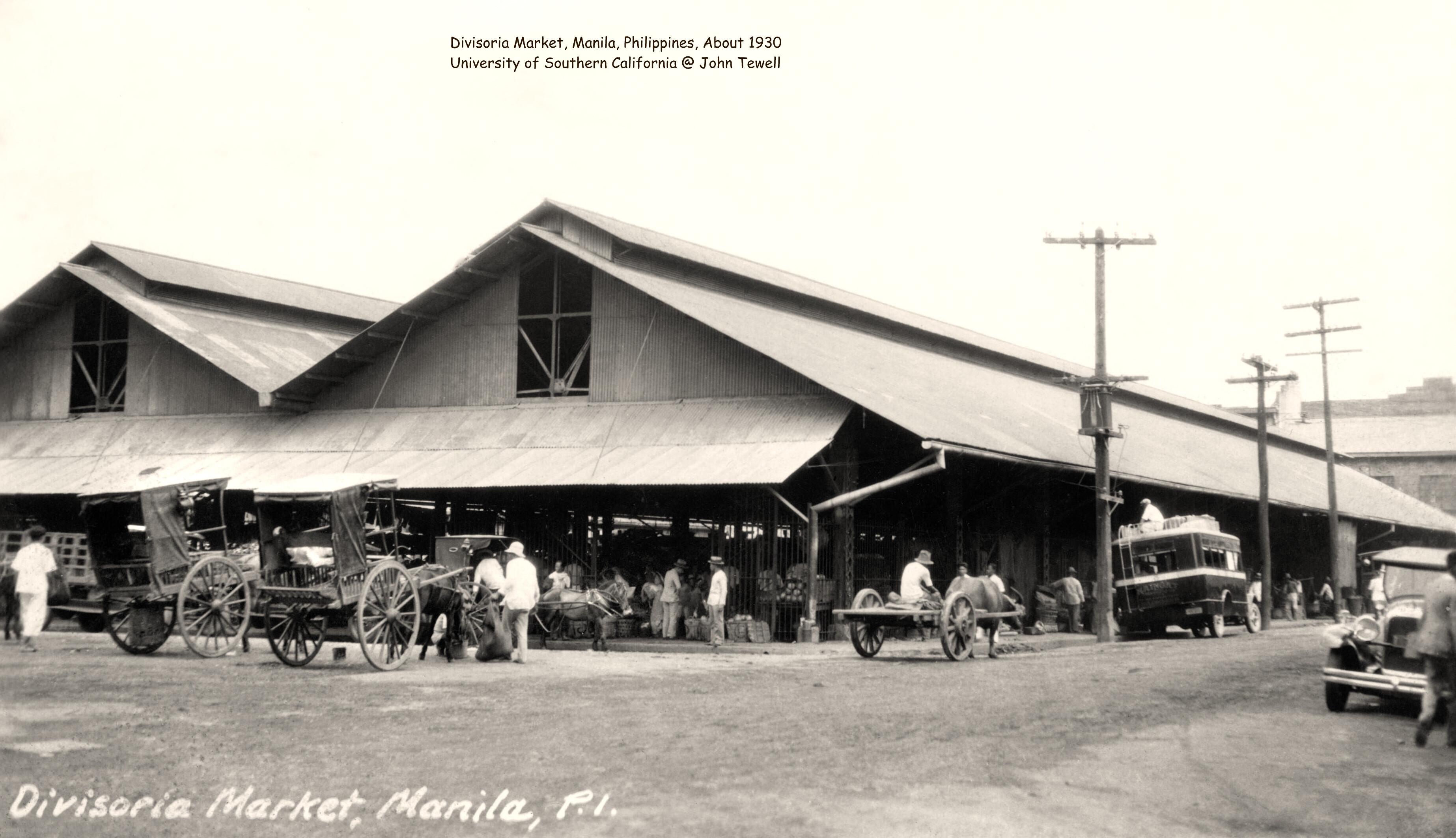 Divisoria Market, Manila, Philippines, About 1930
