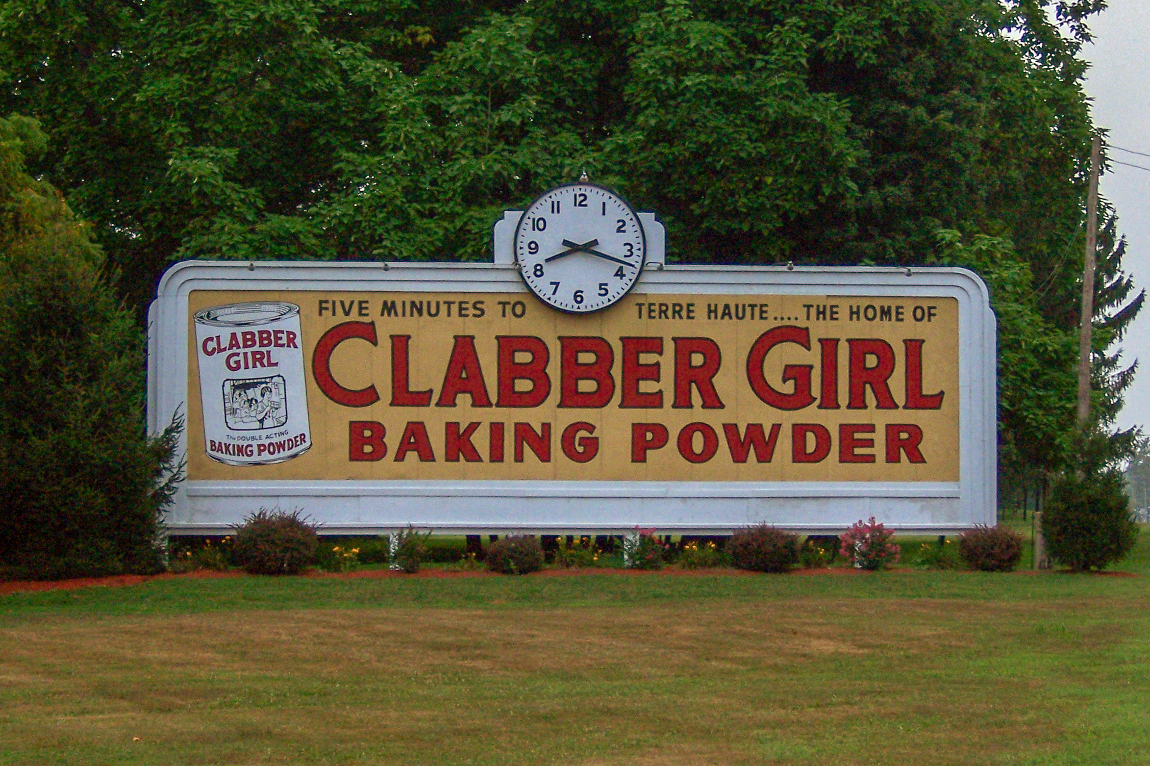 Clabber Girl Baking Powder - Terre Haute, Indiana U.S.A. - August 19, 2007
