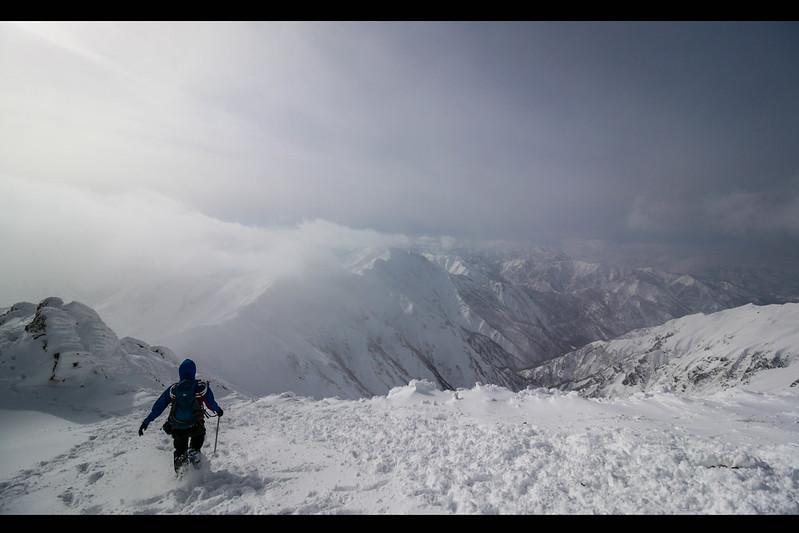 谷川岳 雪山登山 2015年