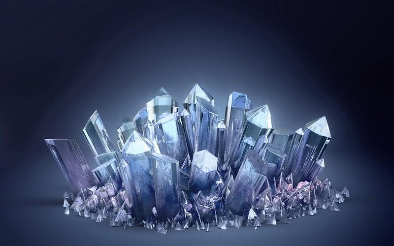 Обои кристаллы, стекло, светлый картинки на рабочий стол, фото скачать бесплатно