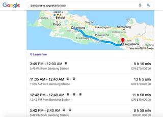 Train Bandung to Yogyakarta | by Traveling Morion