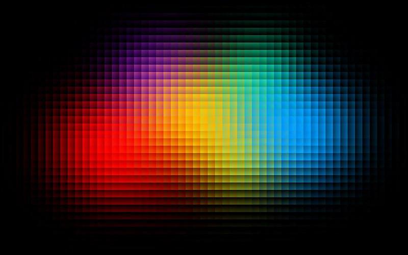 Обои пиксели, форма, разноцветный, блеск картинки на рабочий стол, фото скачать бесплатно