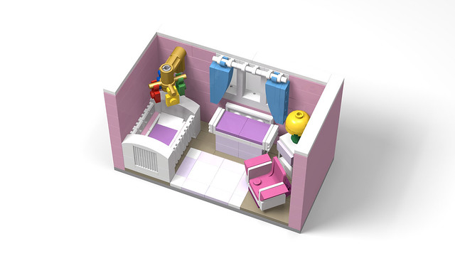 LEGO - Girl's Nursery Room