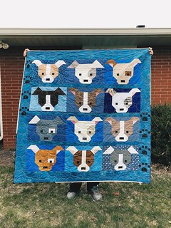 Finished quilt for do.Good Stitches Unite Circle