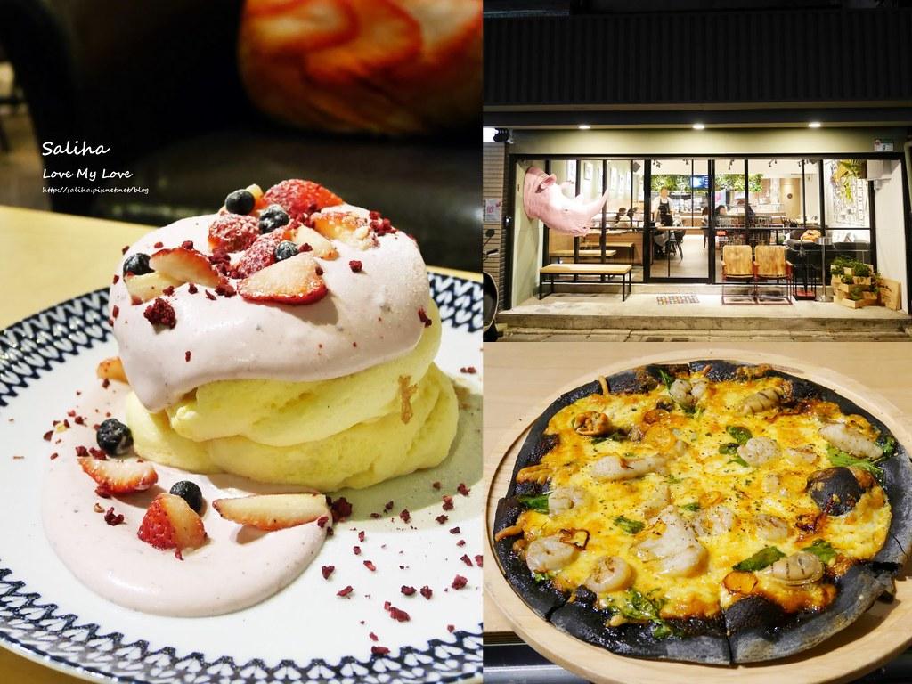 台北松山小巨蛋站咖啡廳甜點店Bubble Cafe食記心得