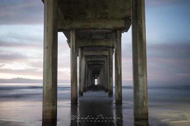 Scripps Pier - Underbelly