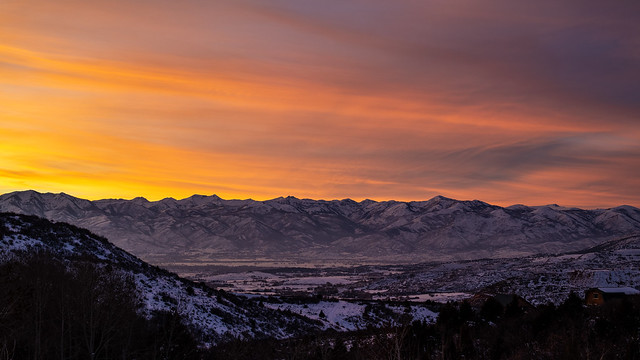 30/365 Wasatch Back Sunset