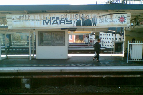 Richmond Station: ads for Life On Mars (US) 24/2/2009