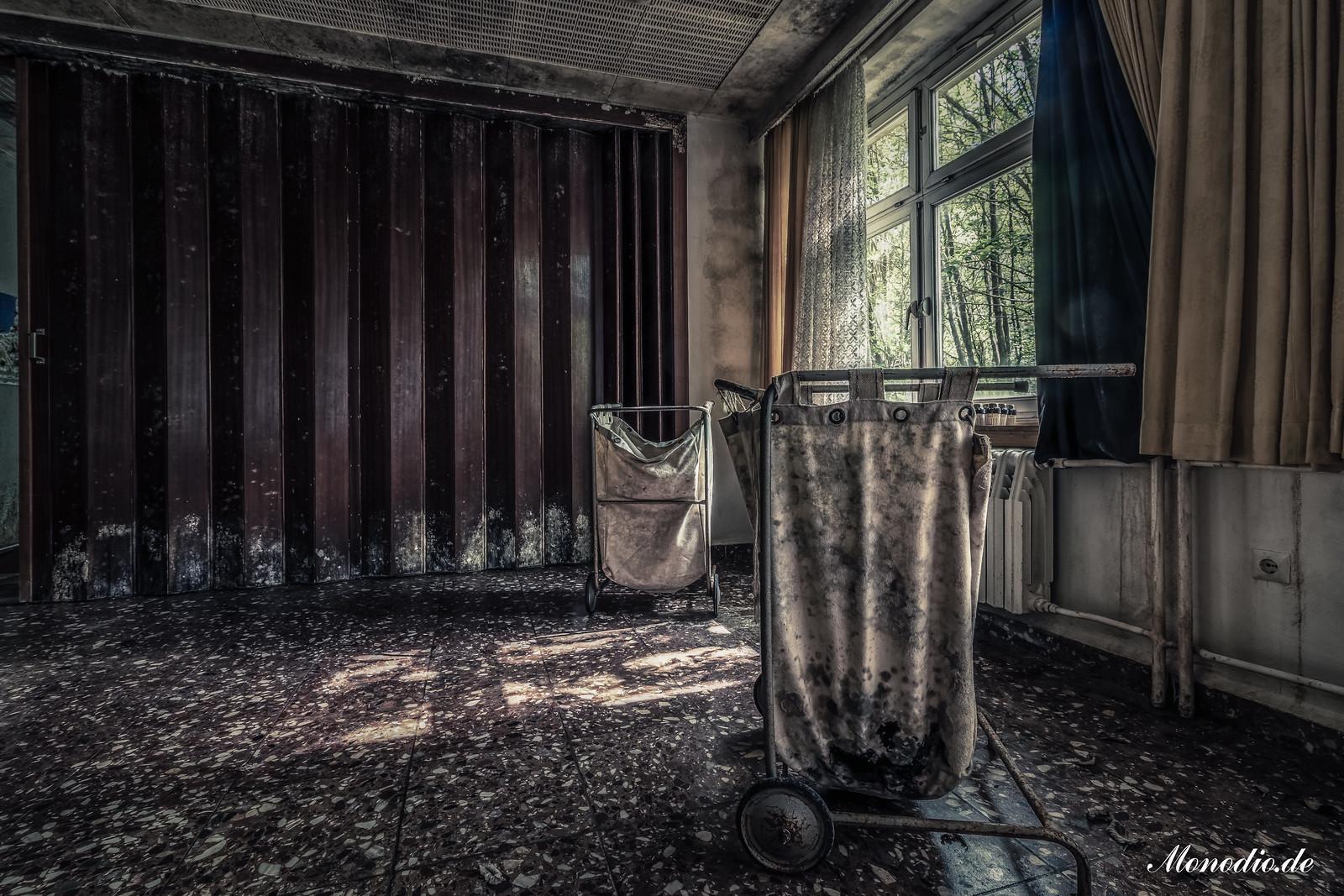 Das verlassene Tagungshotel