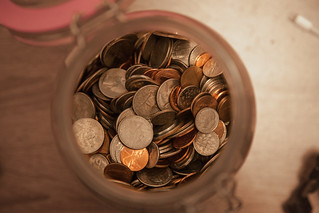 A penny saved... | by Someone's Name