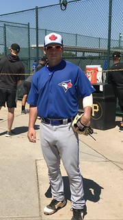 3B Davis Schneider (Eastern Regional '17), in minor league camp with Toronto Blue Jays . | by tedtee308