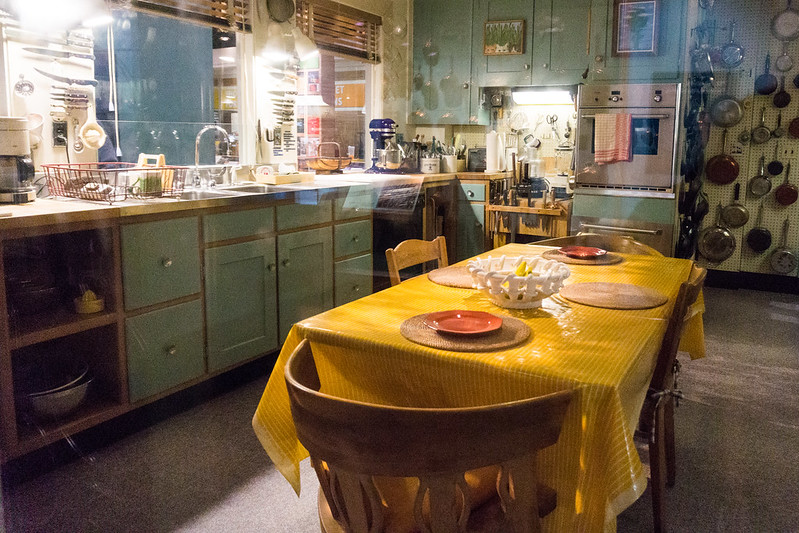 Julia Child's Kitchen, Smithsonian's National Museum of American History Museum, Washington, DC, Nov. 28, 2018