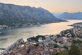 Sunset over Kotor Bay | by Naval S