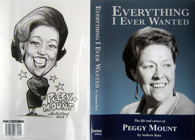 Peggy Mount: Cartoon Tribute by Stephen B. Whatley - Published For New Biography. 2019