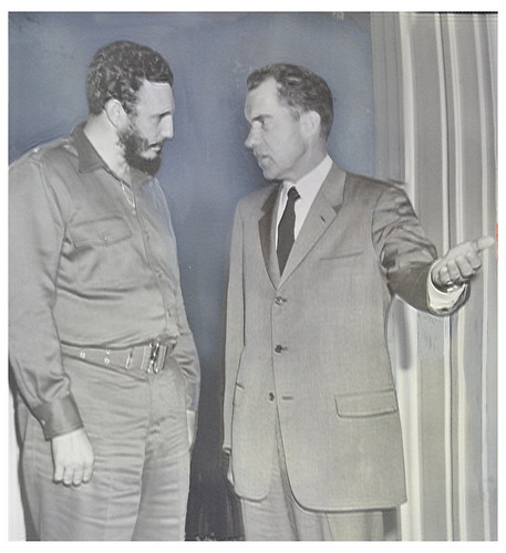 Castro visits Vice President Nixon: 1959 | by Washington Area Spark