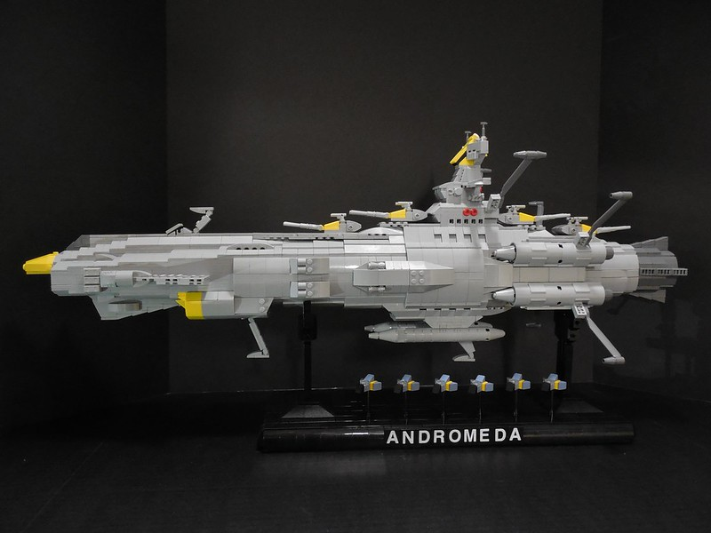 Space Battleship Andromeda 007