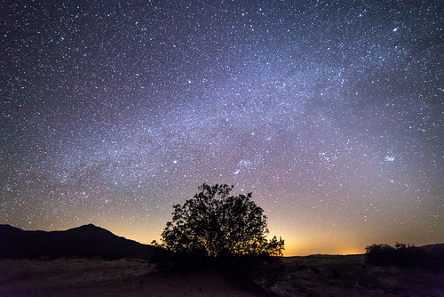 Milky Way over Mojave National Preserve