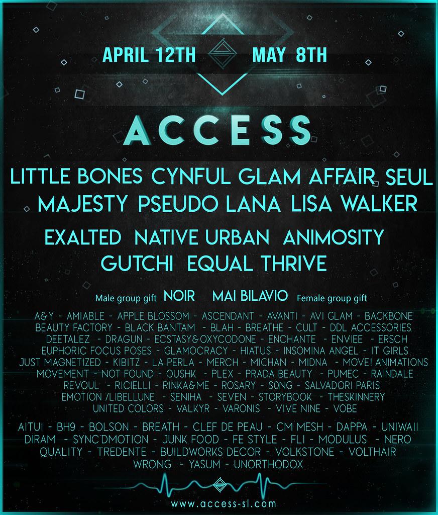 ACCESS  – APRIL  12th