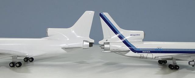 NG Models Lockheed L-1011 Tristar vs Gemini Jets Tristar