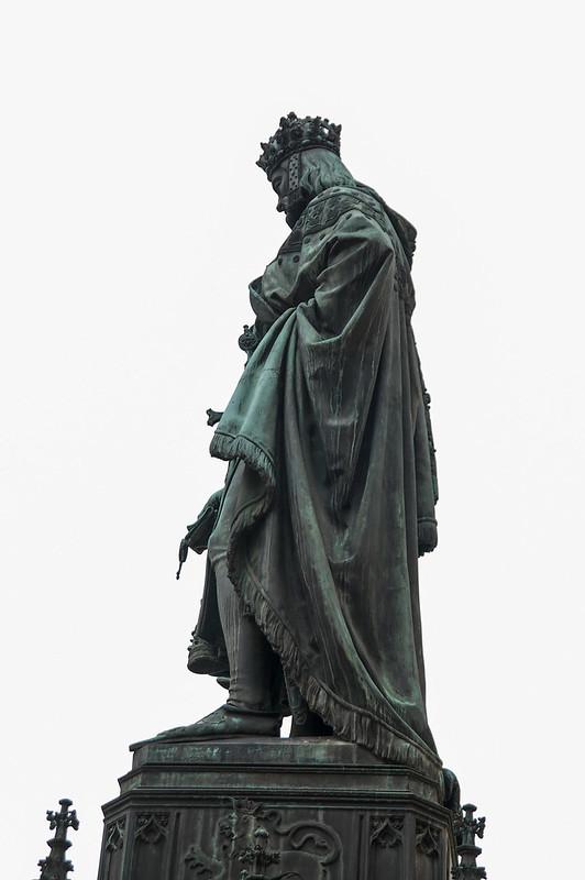 查理四世(Charles IV)雕像 2