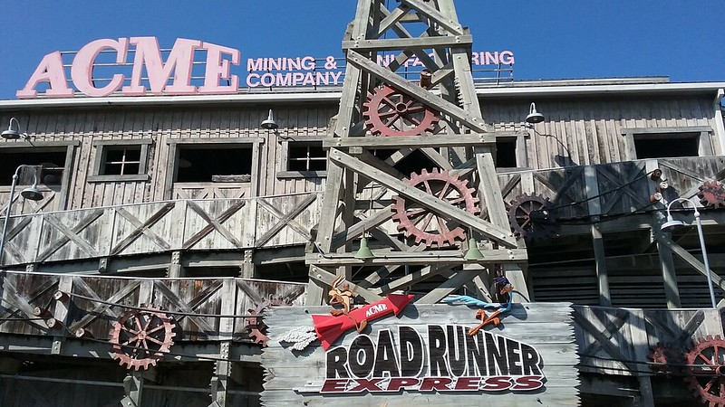 Road Runner Express Six Flags Fiesta Texas