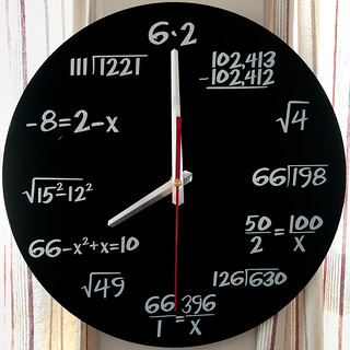 Math Clock | by Timothy Valentine