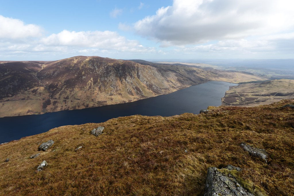 Loch Turret Reservoir from Carn Chois