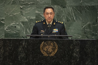 CHINA at the 2019 United Nations Peacekeeping Ministerial on Uniformed Capabilities, Performance and Protection | by United Nations Peacekeeping