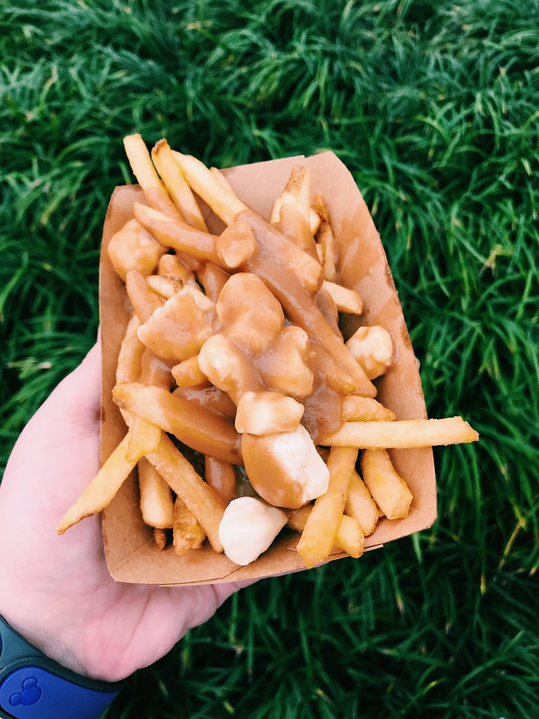 This is a picture of classic poutne in epcot